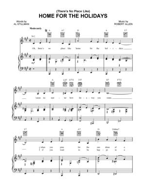Sheet Music Christmas Sheet Music - Home for the Holidays
