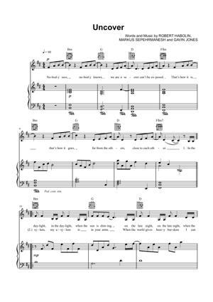 Sheet Music Zara Larsson - Uncover