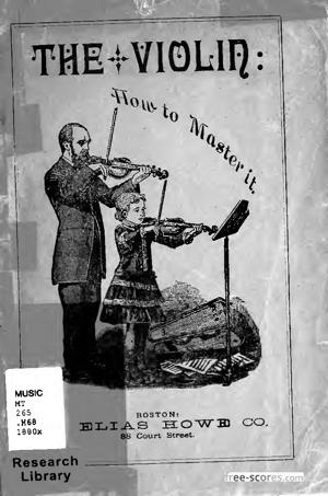 Sheet Music The Violin: How to Master It