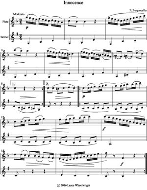 Sheet Music Innocence