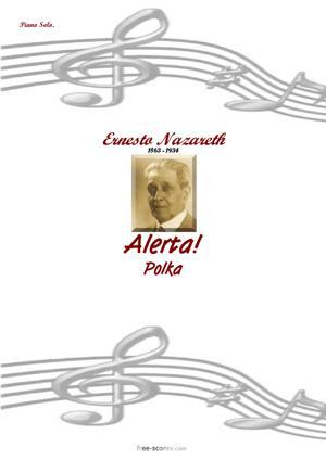 Sheet Music Alerta