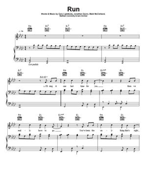 Sheet Music Leona Lewis - Run