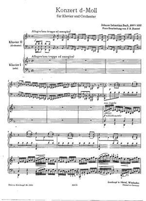 Sheet Music Concerto