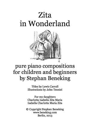 Sheet Music Zita in Wonderland - 24 miniatures for children and beginners (Book I)