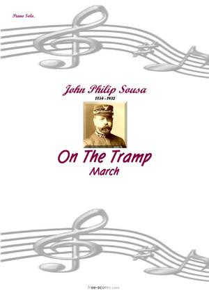Sheet Music On the Tramp