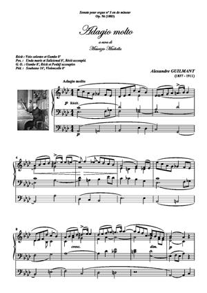 Sheet Music Adagio molto from Op.56