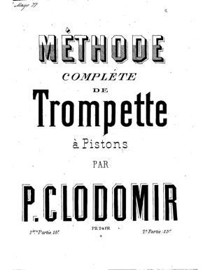 Sheet Music Méthode complète de trompette à pistons