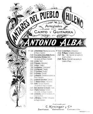 Sheet Music La abuelita. Cancion