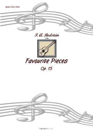 Sheet Music Favourite Pieces