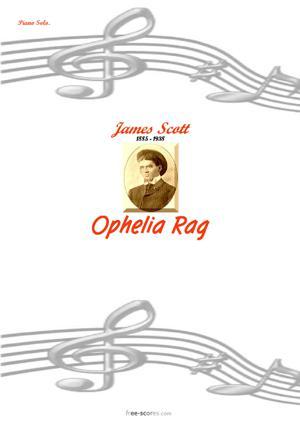 Sheet Music Ophelia Rag