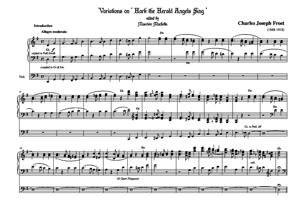 Sheet Music Variations on ' Hark the Herald Angels Sing '