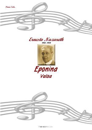 Sheet Music Eponina