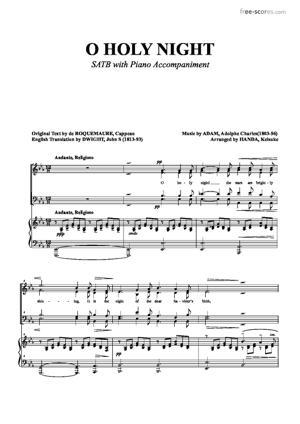 Sheet Music O Holy Night