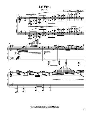 Sheet Music The Wind