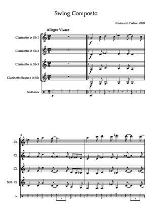 Sheet Music Swing Composto