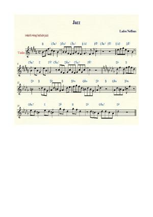 Sheet Music jazz abelle lades neffous
