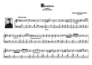 Sheet Music Elevazione in Do minore per Organo