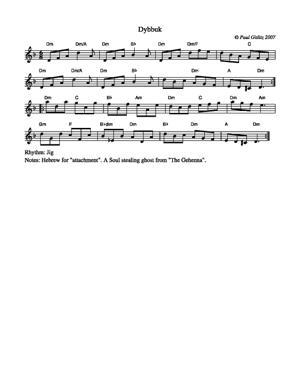 Sheet Music Dybbuk