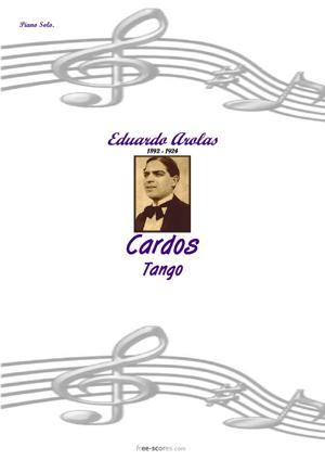 Sheet Music Cardos