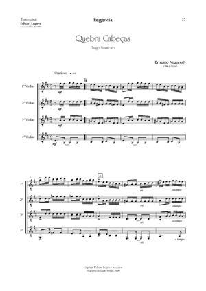 Sheet Music Quebra-Cabeças