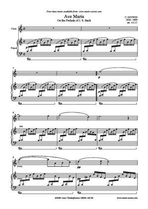 Sheet Music Charles Gounod - Ave Maria