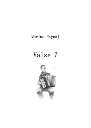 "Sheet Music Waltz 7 ""accordion waltz"""