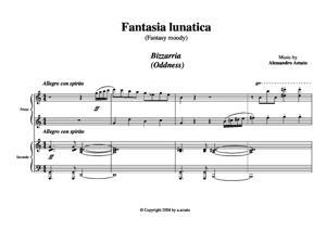 Sheet Music Fantasy moody