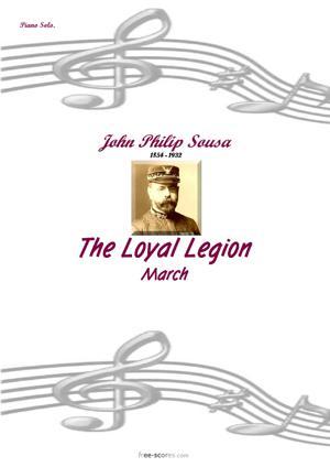Sheet Music The Loyal Legion