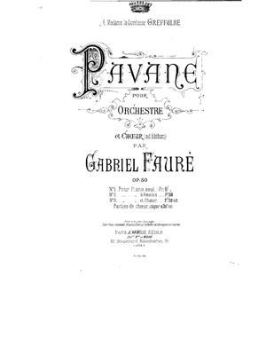 Sheet Music Pavane