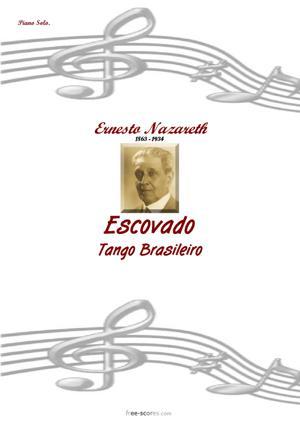 Sheet Music Escovado