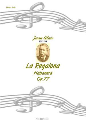 Sheet Music La Regalona
