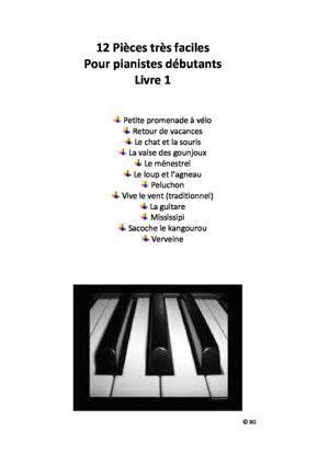 Sheet Music Album pour Débutants I