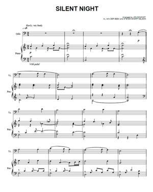 Sheet Music The Piano Guys - Silent Night