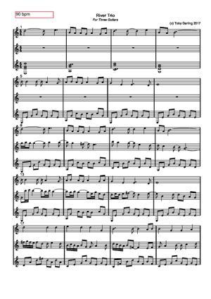 Sheet Music River Trio
