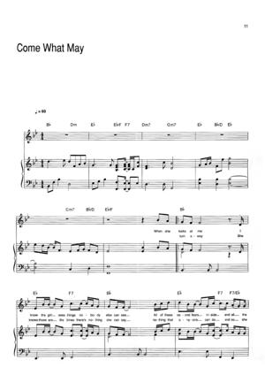 Sheet Music Air Supply - Come What May