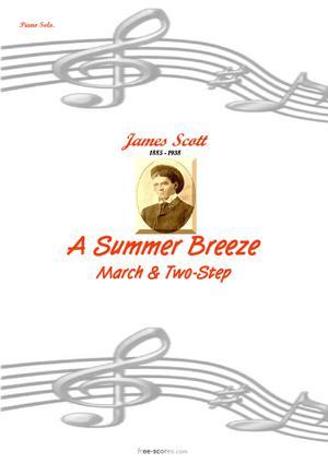 Sheet Music A Summer Breeze