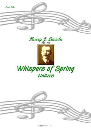 Sheet Music Whispers of Spring