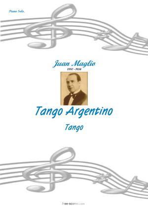 Sheet Music Tango Argentino