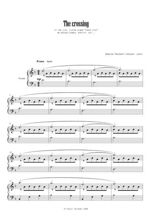 Sheet Music The crossing (live)