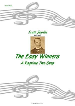 Sheet Music The Easy Winners