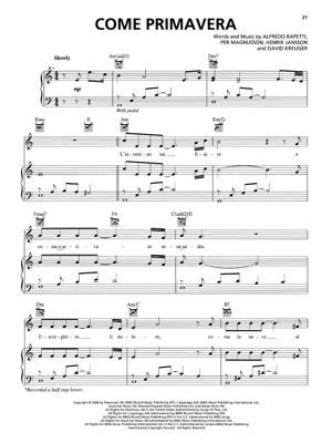 Sheet Music Il Divo - Come Primavera