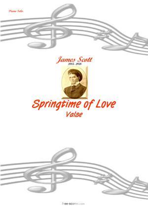Sheet Music Springtime of Love