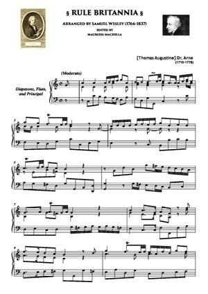 Sheet Music Rule Britannia
