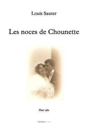 Sheet Music Les noces de Chounette