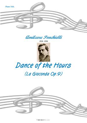 Sheet Music Dance of the Hours