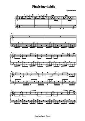 Sheet Music Final inevitable