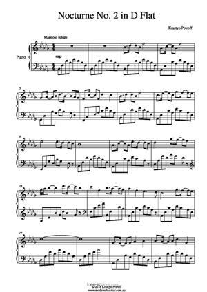 Sheet Music Nocturne No. 2 in D Flat