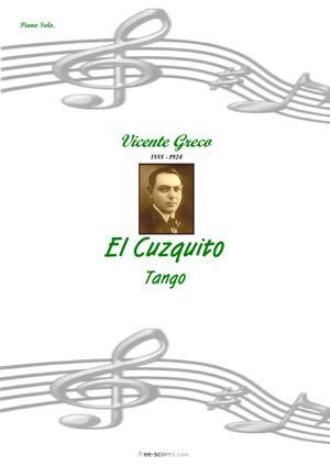Sheet Music El Cuzquito