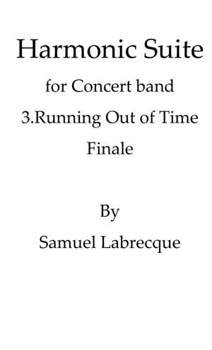 Sheet Music Finale: Running Out of Time