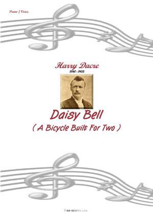 Sheet Music Daisy Bell